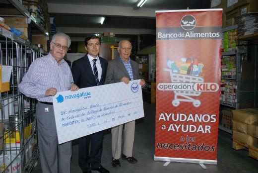 'Chute' de 65.000 kilos de comida a los bancos de alimentos gallegos