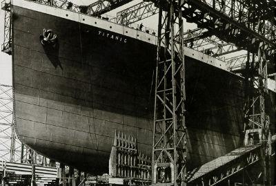 El mundo recuerda al titanic 100 a os despu s de su hundimiento vigo al minuto - Construccion del titanic ...
