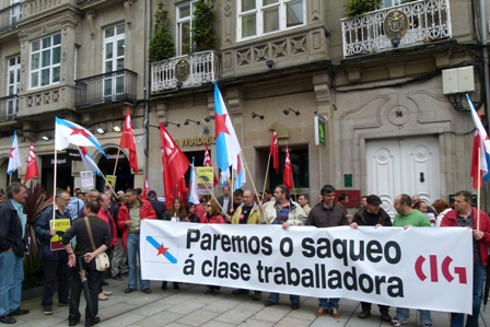 A cig ocupa distintas oficinas de bankia de galicia for Oficinas de bankia en madrid