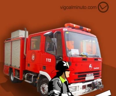 Un incendio quema parte de una cocina de una casa en Cabral