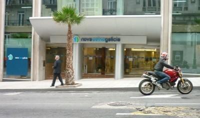 Novagalicia Banco pierde 1.399 millones durante el primer semestre