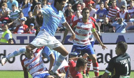 Ni los hinchas del Granada se explican como su equipo pudo ganar al Celta 2-1
