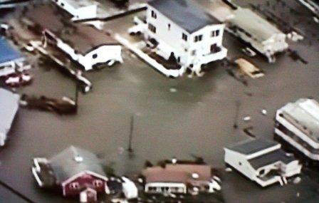 Se elevan a 40 los muertos por el paso de Sandy