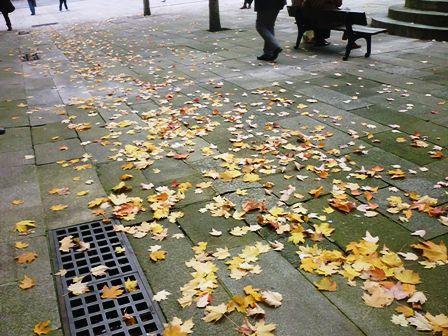 Frío y lluvia en Galicia este viernes