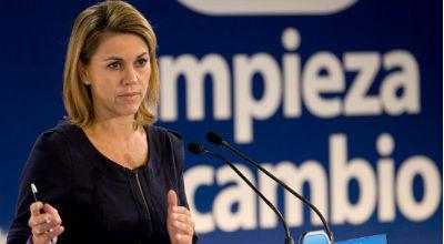 Cospedal cobró el año pasado 31.775 € del Senado, 36.082 € de Castilla-La Mancha y 1.634…sin contar su cargo en el PP