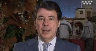 El presidente de la Comunidad de Madrid, tiene que dar su mensaje de Fin de año por Internet