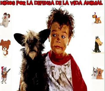Concentración por los derechos de los animales en Pontevedra