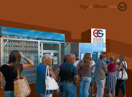 Ya hay parad s en galicia vigo al minuto for Oficina de emprego galicia