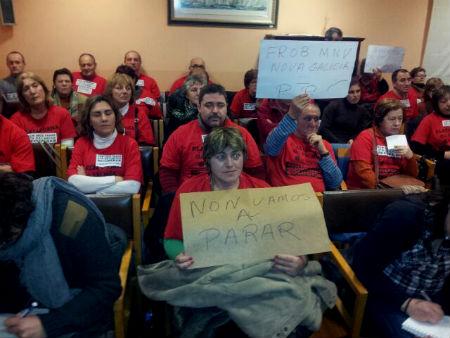 Afectad@s polas Preferentes forzan un acordo do Pleno do Concello de O Grove a prol das súas demandas