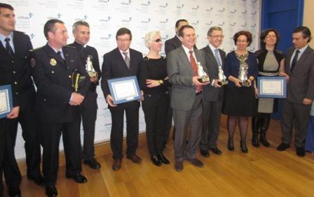 La Policía, Tráfico, Concello y Hospital Fátima, premiados en educación vial