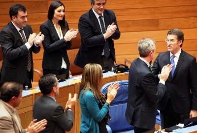 La oposición a Feijóo: que explique en el Parlamento las fotos con Dorado