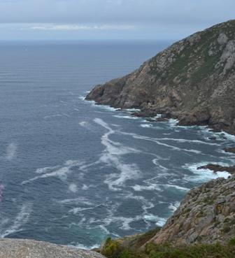 Olas de más de 3 metros en la costa gallega
