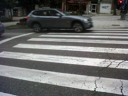 Dos nuevos atropellos en Vigo