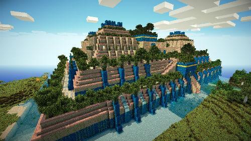 Los jardines colgantes de babilonia no estaban en for Jardines colgantes babilonia