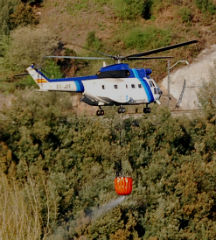 Extinguido o lume que arrasou 30 hectáreas de monte arbolado, dende este sábado en Caldas