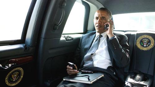 Saluda a Obama que te estará escuchando