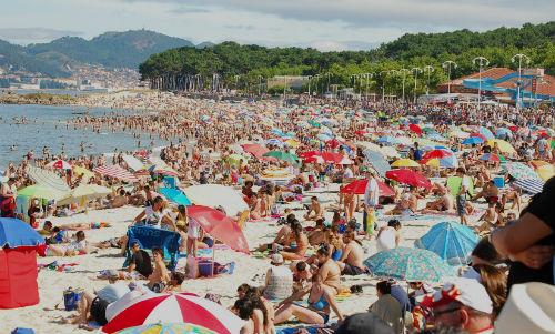 Vigo, por encima de los 30 grados hasta el lunes