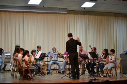 A Escola de Música de As Neves pechou o curso cun impresionante concerto