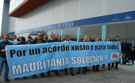 Os mariñeiros galegos da flota cefalopodeira deixarán de cobrar as axudas o día 1 de agosto