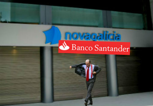El Santander estudiará la compra de Novagalicia Banco