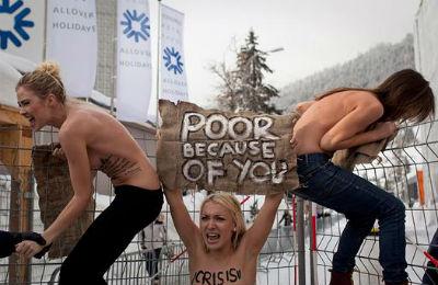 Las fundadoras de Femen huyen de Ucrania por temor a ser encarceladas