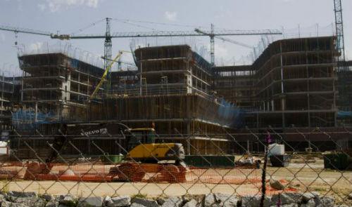 La uni n de empresas que construye el nuevo hospital for Empresas de construccion en vigo