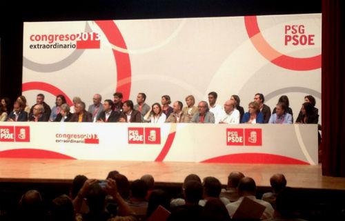 """Besteiro, novo líder dos socialistas galegos, """"temos que ser unha ferramenta ao servizo das personas"""""""