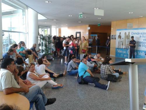 O Comité de Empresa de Povisa, a xuizo por 'ocupar' a Delegación da Xunta o 5 de agosto