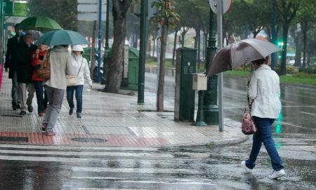 Lluvias intensas desde este viernes y alerta amarilla en A Coruña y Pontevedra