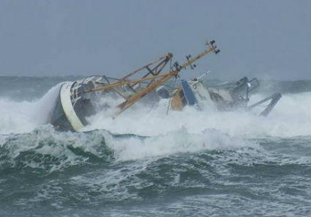Rescatados sanos y salvos los 7 tripulantes del pesquero 'Francés' con base en Vigo