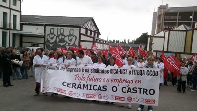 29 Empregados De Cer Micas O Castro Sen Emprego Dende