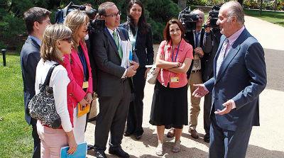 La Zarzuela convoca a periodistas 'seleccionados' a un desayuno cinco días antes de la declaración de la infanta