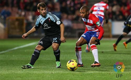 El Celta logra su segunda victoria consecutiva a costa del Granada (1-2)