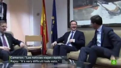 """""""Is very difficult todo esto"""",diría Rajoy si tuviese que optar a una beca Erasmus"""