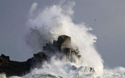 A Coruña e Lugo en alerta laranxa e Pontevedra, en amarela