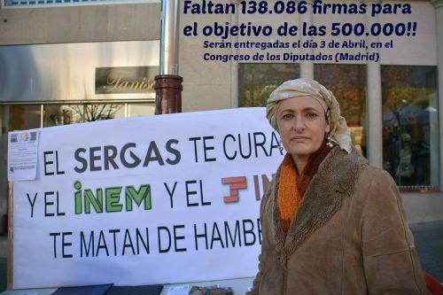 La viguesa Beatriz Figueroa consigue 362.000 firmas para que se proteja a los enfermos de cáncer