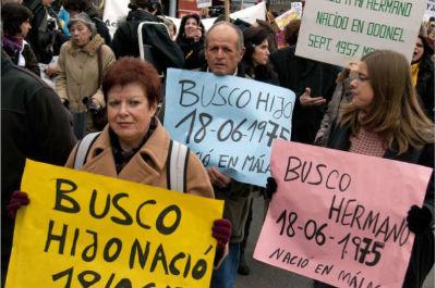 11 casos de bebés robados registrados en Galicia