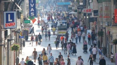 El Producto Interior Bruto de Galicia cayó un 1% el año pasado