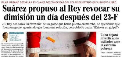 """Pilar Urbano sobre el 23-F, """"el Rey paró un Golpe que él puso en marcha"""""""