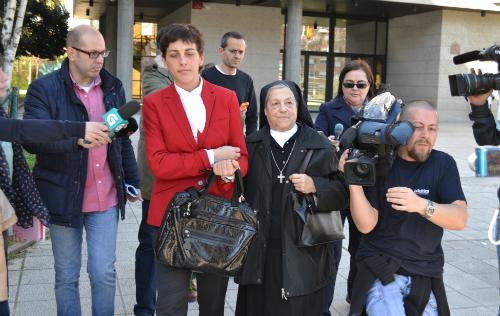 Sor Pilar no recuerda que la madre de Noemí Lima firmase documento alguno dando a su hija en adopción