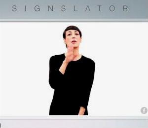 Signslator, nuevo traductor online de español a lengua de signos