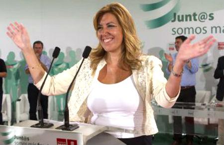 Caballero no duda: quiere que la presidenta de la Junta de Andalucía lidere el PSOE