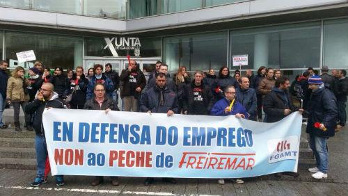 Freiremar ofrece indemnizacións de 20 días por ano a cambio de que os traballadores renuncien ás débedas pendentes