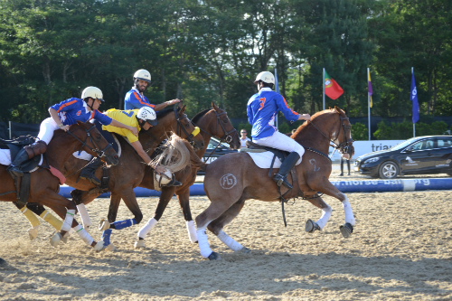El equipo vigués 'La Muralla' jugará la final de la Liga Absoluta de Portugal de Horseball