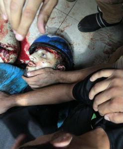 #Gaza: Israel no respeta su 'tregua' de 4 horas, bombardea el principal mercado de la ciudad y mata a 17 personas