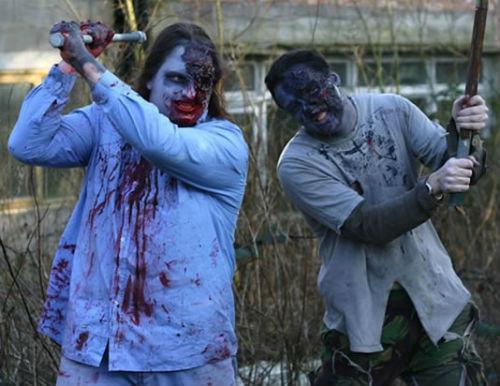 Zombies, chorizos y caballos en Celeiros