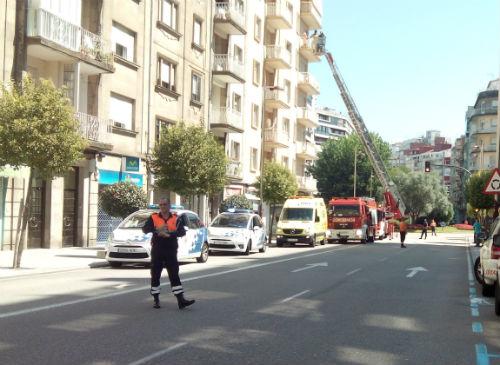 Buscan el origen de un incendio en un edificio de Pizarro
