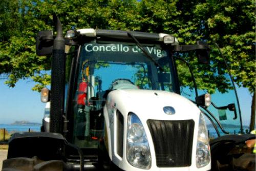 O persoal de Cespa, concesionaria de mantemento de zonas verdes de Vigo, irá á folga
