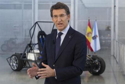 """Feijóo afirma que Galicia anticipouse a crise e que """"empeza a crear emprego"""""""