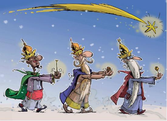 Os Reis Magos, en Vigo dentro de 6 días